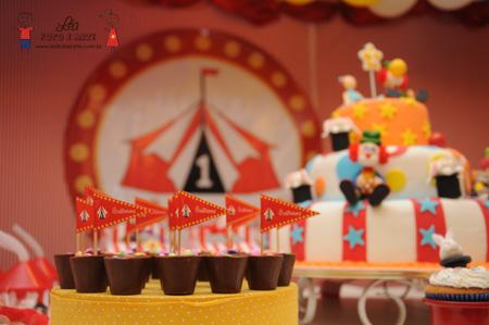 Papelaria festa circo
