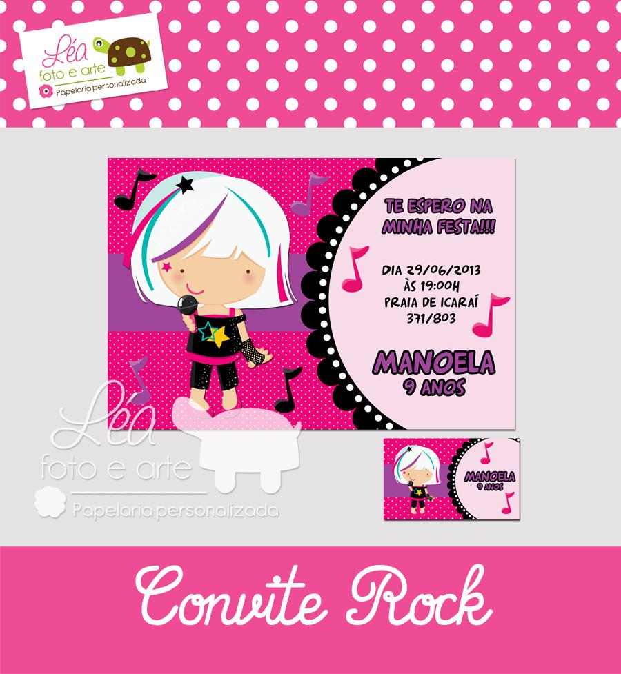 rock convite