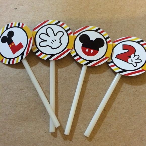 topper-cupcake-mickey-bandeirinha-para-doce