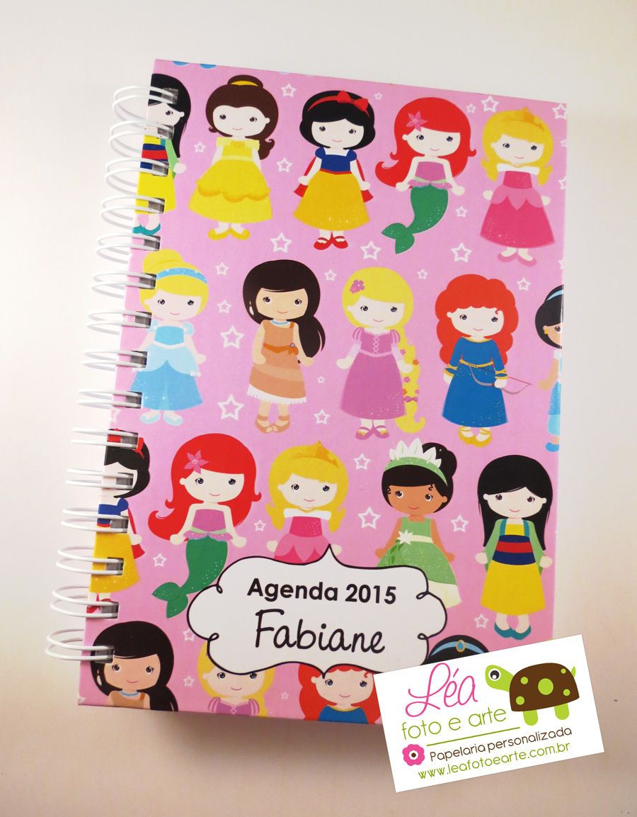 agenda 2015 - princesas