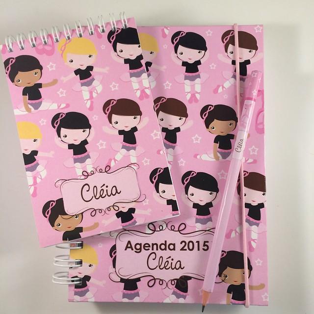 kit agenda + bloquinho + lápis2