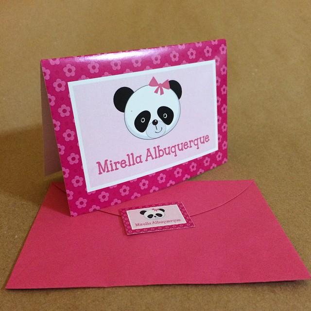 cartao social panda