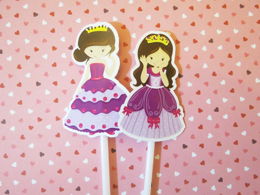 topper princesas
