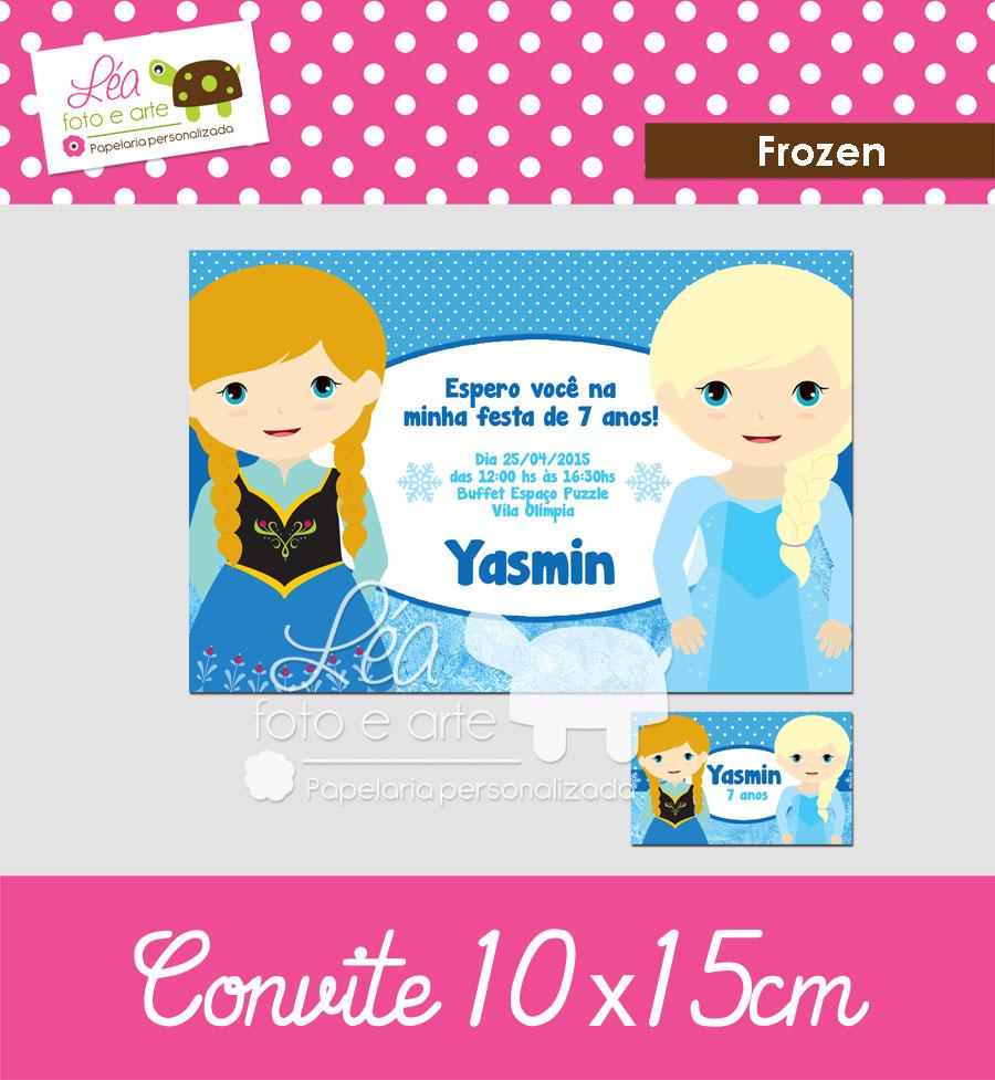 frozen convite kit festa