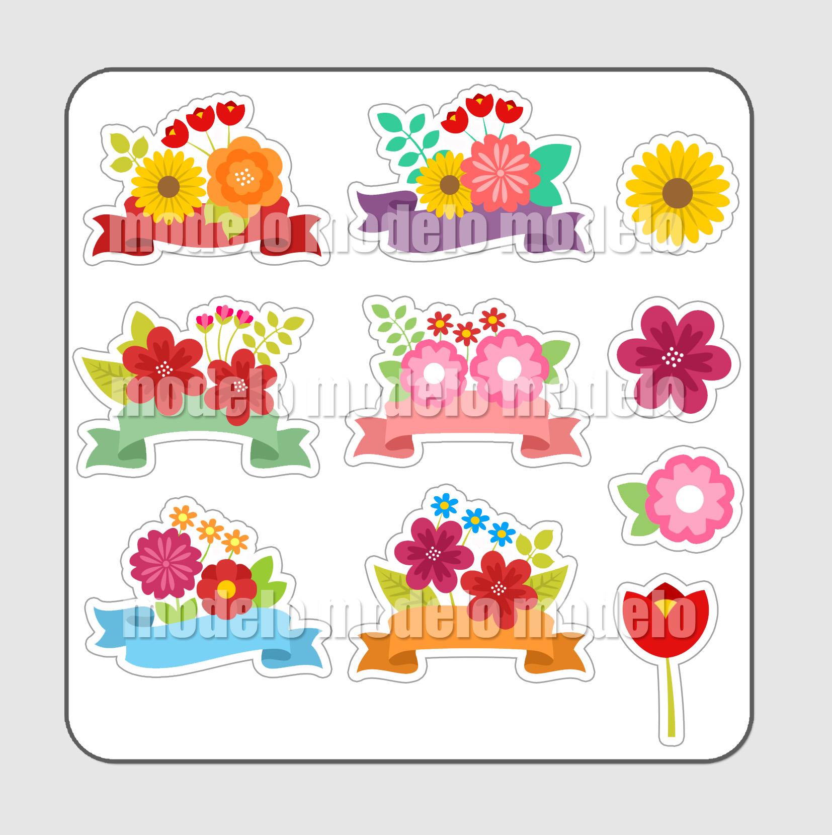 cartela flores