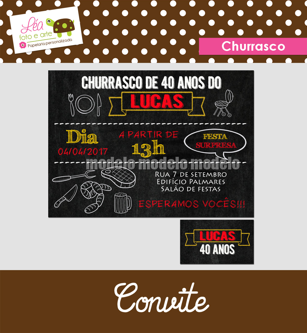 convite_churrasco