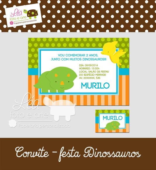 convite-dinossauros-convite