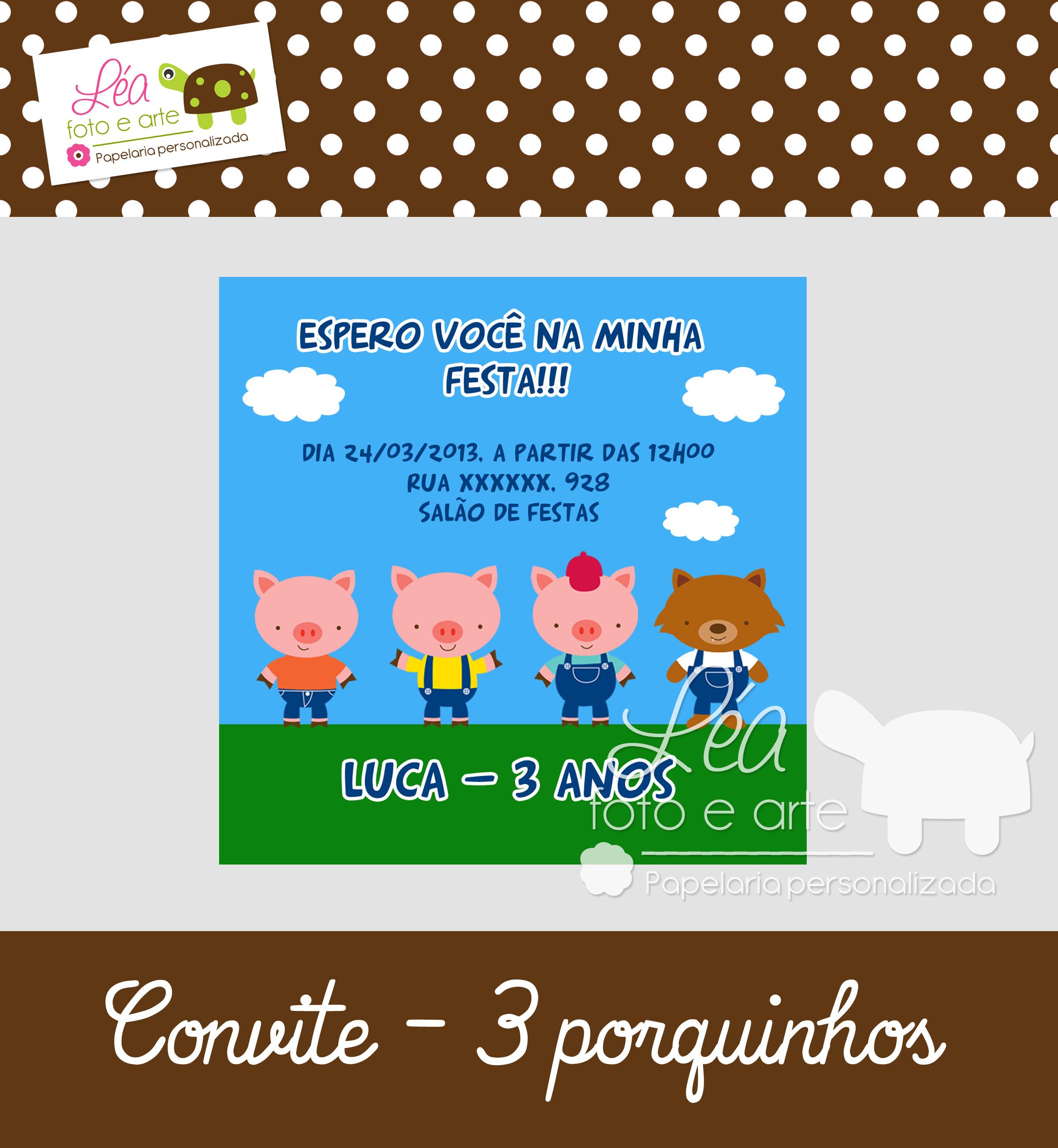 convite_3porquinhos