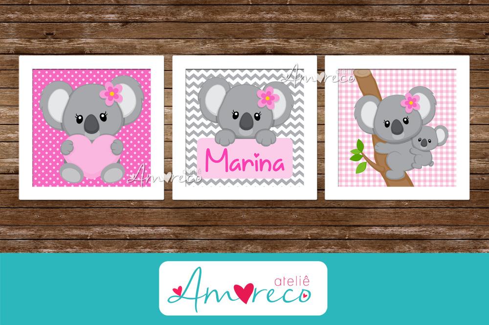 koala trio quadrinhos