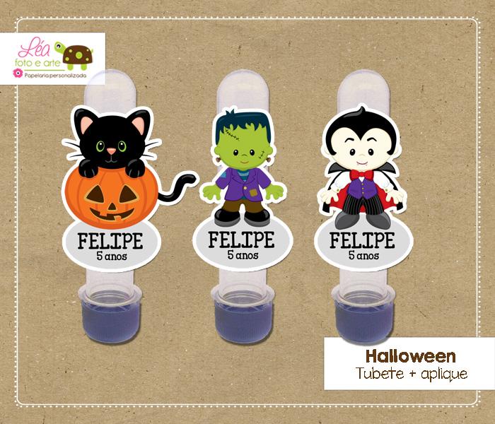 Tubete festa halloween