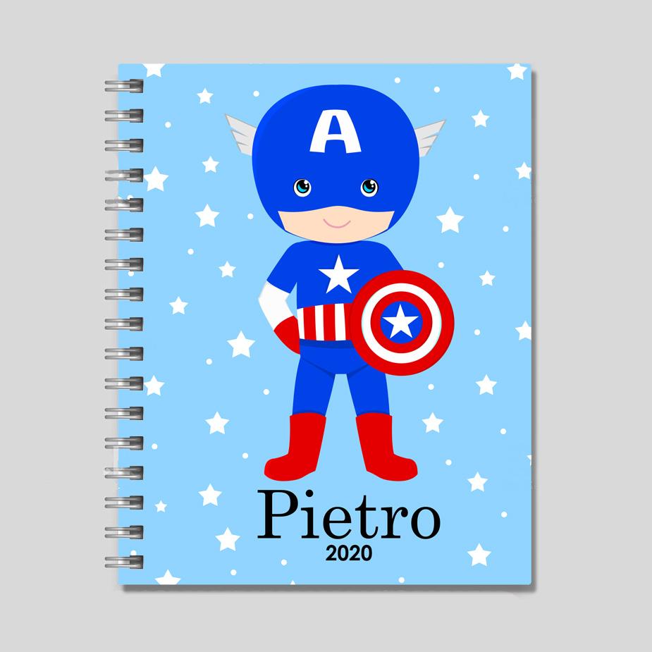 agenda capitão américa