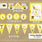 kit festa abelhinha