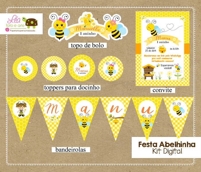 kit digital para festa infantil